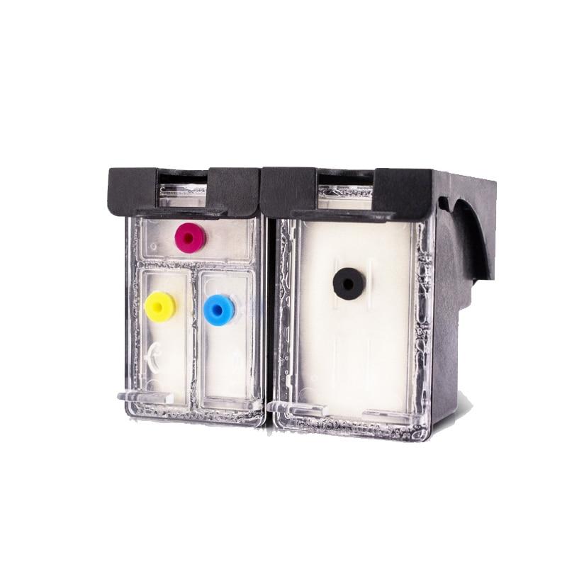 Einkshop 302XL cartucho de tinta rellenable para hp 302 Deskjet serie 1110, 3639, 3831, 3630 envidia 4650 4525 europeo 4527 impresora
