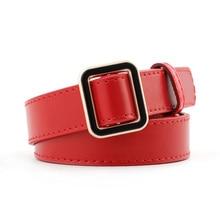 Ke Meiqi European and American Fashion Creative Thin Belt Ladies Wild Decorative Jeans Dress Belt Fe