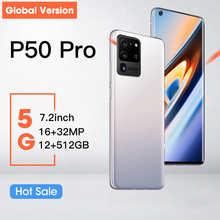 Hauwei P50 Pro смартфон, экран 7,2 дюйма, 12 Гб + 512 ГБ, 5000 мАч