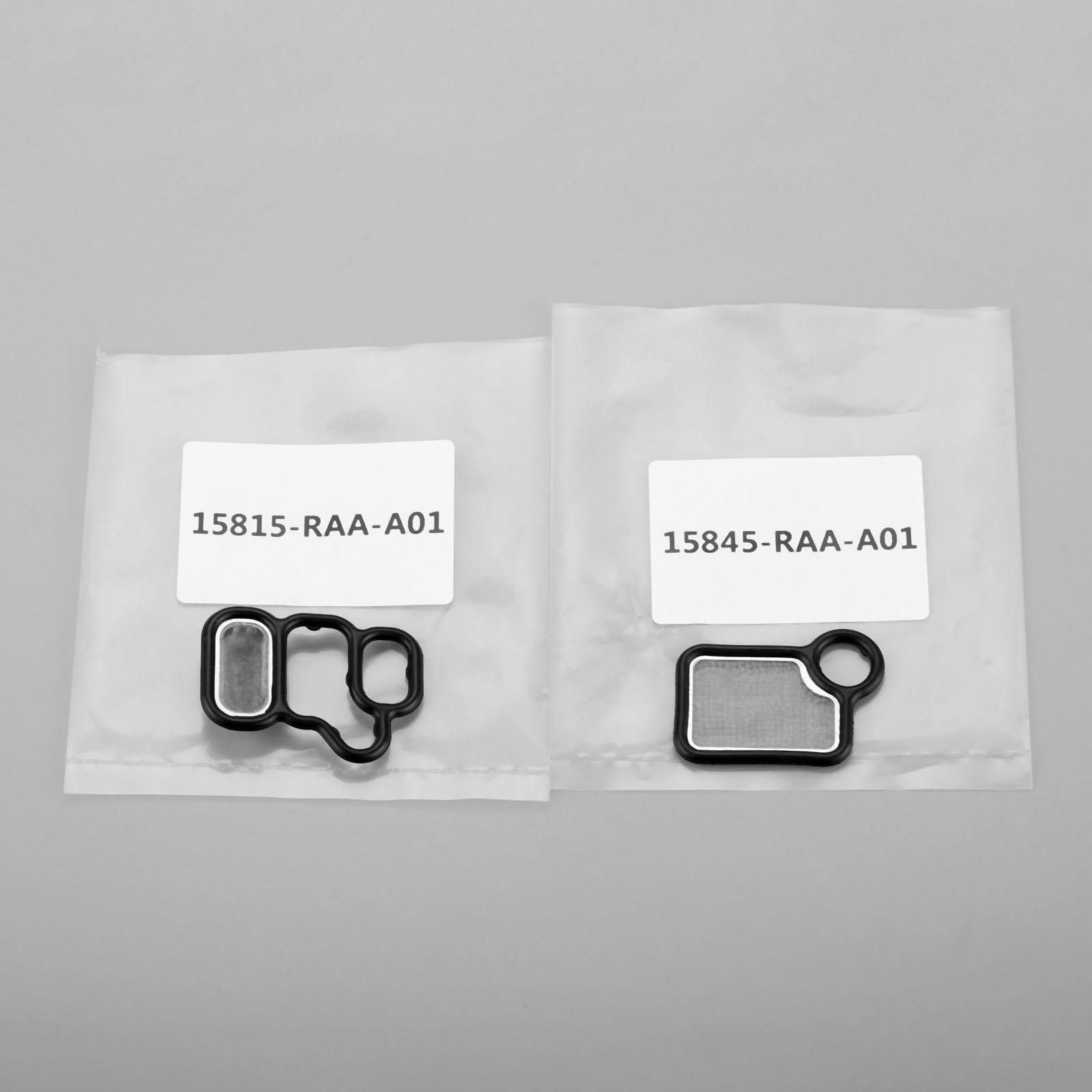 Прокладка электромагнитного клапана VTEC и VTC фильтр 15815 RAA A01 15845 подходит для Honda