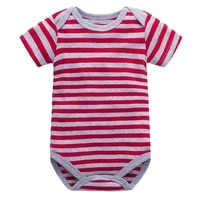 bodysuit for baby summer boys and girls short sleeved cotton fashion stripe bodysuit newborn infant body suit baby clothes