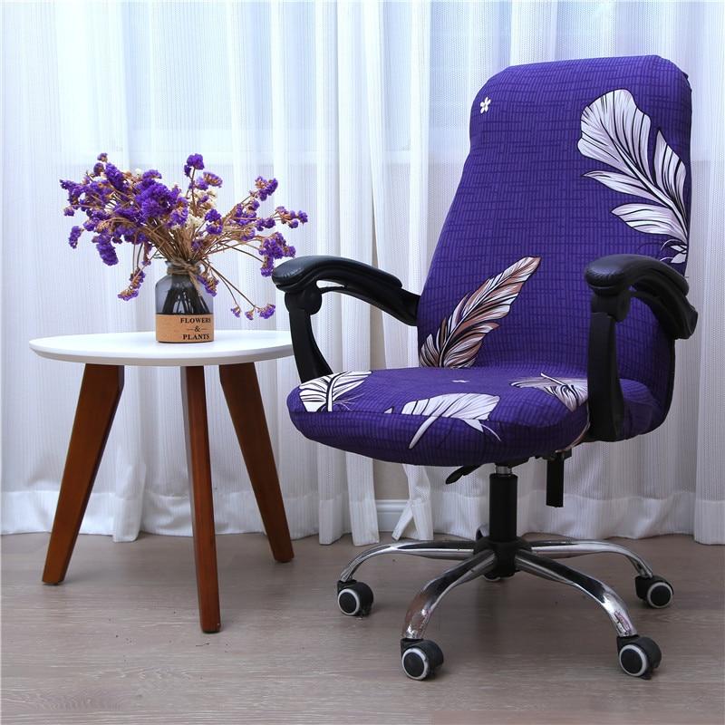 Caliente 1 piezas Oficina elástico Spandex silla cubierta S M L impresión...