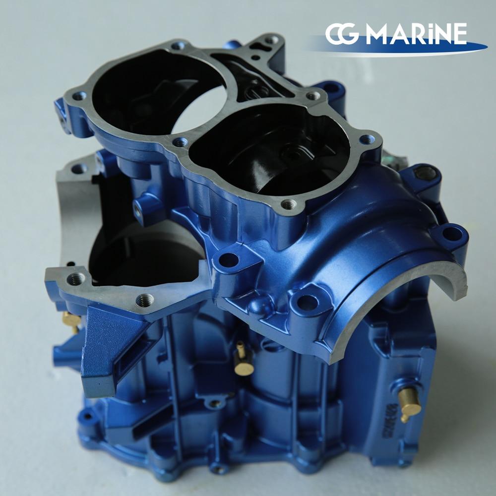 CG MARINE 8/9.8hp outboard motor  boat engine part cylinder crank case interchange with 3B2B01100-2 enlarge