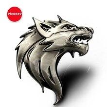 Noizzy-Logo tête de loup Totem voiture   Accessoires de voiture, Badge de moto automobile, emblème 3D métal Chrome Bronze SUV Tuning