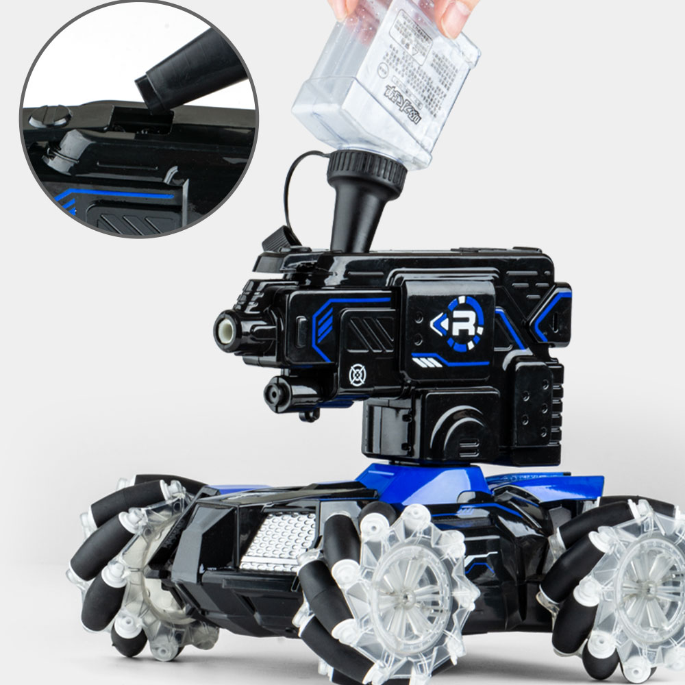 4x4 rc car with remote control  toy for child  can throw water bomb armored car  rc vehicles Christmas or birthday present enlarge