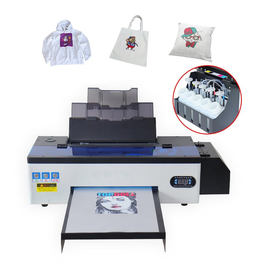 Impressora de Dtf Calor para t a3 para Epson Impressora Transferência Diretamente Filme Impressão Imprensa Camisa Moletom Jeans R1390 Dtf