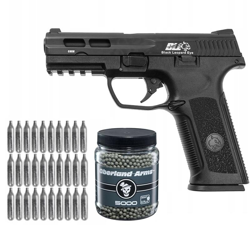 Фото - Металлическое металлическое оружие, пистолет bb, оружие из диоксида углерода + обруч с оборкой + металлическое оружие оружие