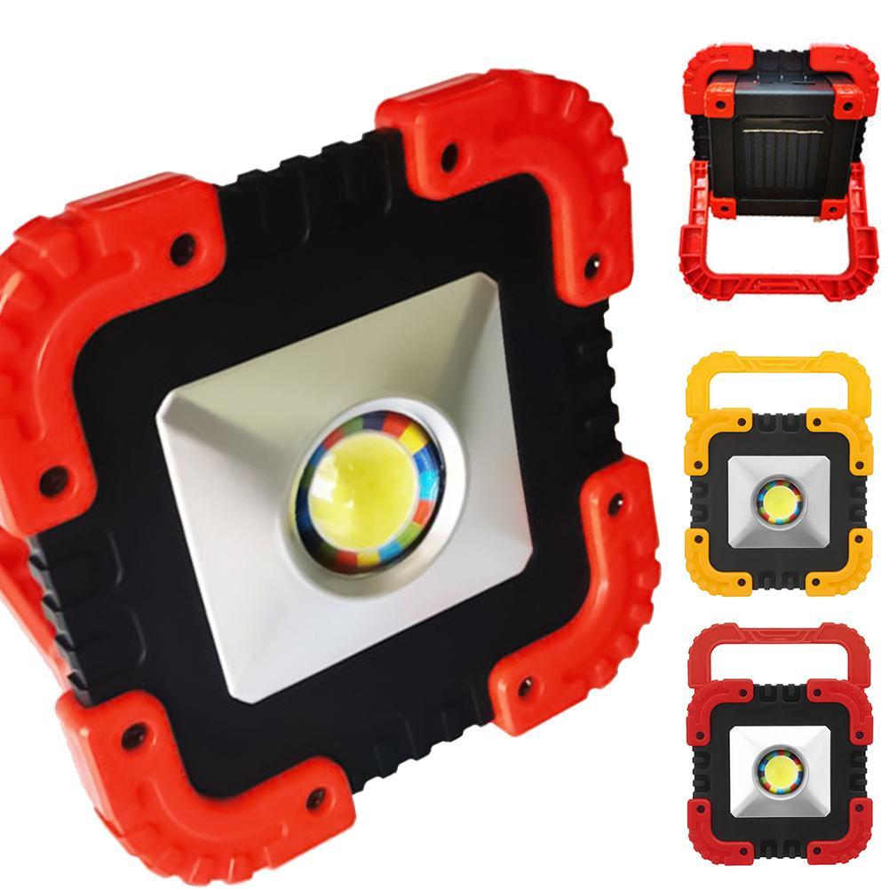 Светодиодный светильник на солнечной батарее, уличный портативный Точечный светильник s, светодиодный светильник для поиска, USB подзарядка,...