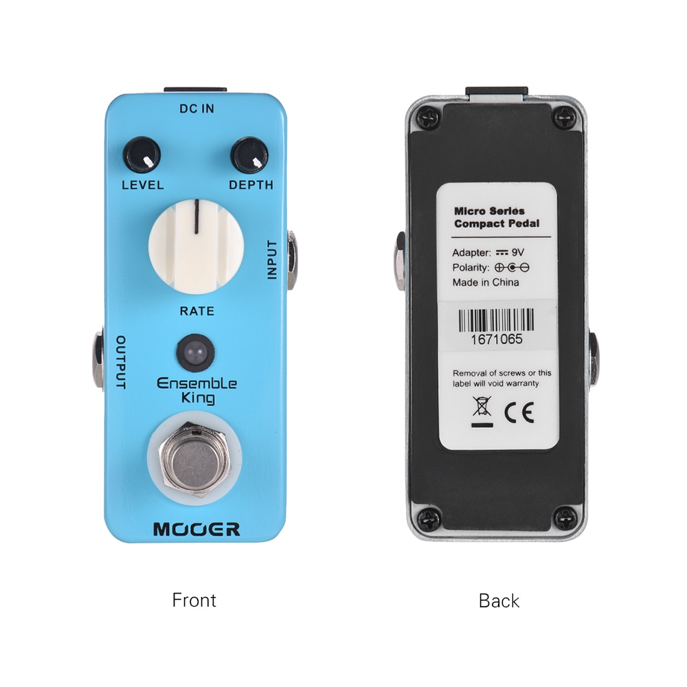 Mooer Guitar Pedal Chorus Electric Guitar Parts and Accessories True Bypass Analog Chorus Mch1 Ensemble King Effect Processor enlarge