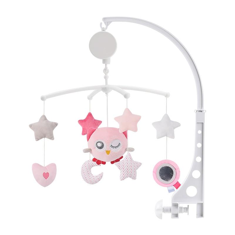 4 estilos berço do bebê chocalhos brinquedos do bebê 0-12 meses caixa de música cama brinquedo carrossel para berços brinquedos móveis crianças criança titular chocalho brinquedo