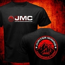 Nouveau Rouge Nain Série Jupiter Mining Corporation Jmc Société Space Corps 2020 Super pour vente à chaude Mode Hommes O Cou DÉCONTRACTÉ T-shirt