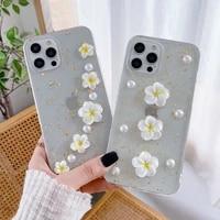 ins 3d case for iphone 11 12 pro max x xs xr 7 8 6 6s plus 12 mini se 2020 phone funda silicone transparent cover apple iphone11