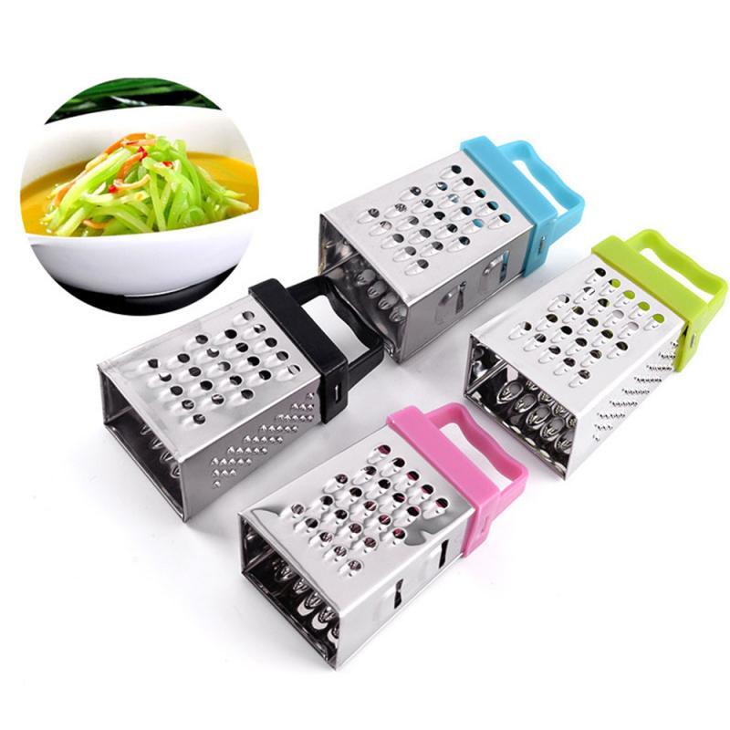 Déchiqueteuse manuelle pour légumes et fruits   Mini trancheur manuel multifonctionnel 4 faces, coupeur rond pour légumes et fruits