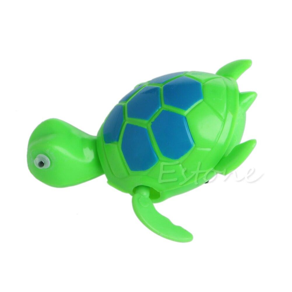 Ветер вверх piscine Jouet животное flottant Tortue для ребенка enfant Дети бассейн Ванна время