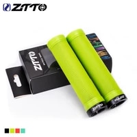 ztto 1pair ag40 mtb grips for mountain bike fixed gear lock on grip anti slip handlebar shock proof rubber bicycle grips parts