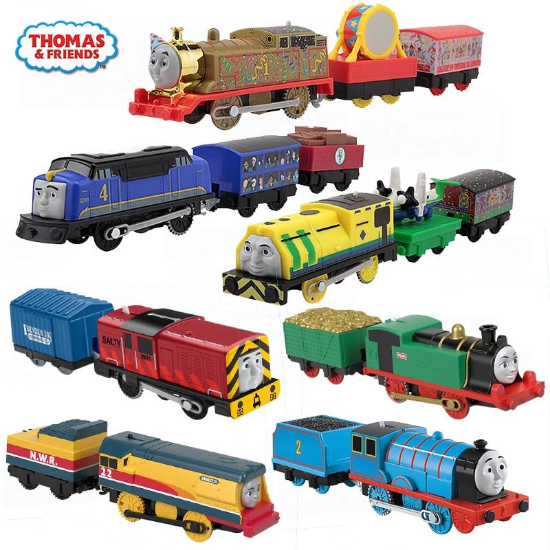Electronal Trains Original Thomas and Friends Electric Edward Diecast Car Toys for Boys Use Battery Motor Metal Kid Toys Oyuncak