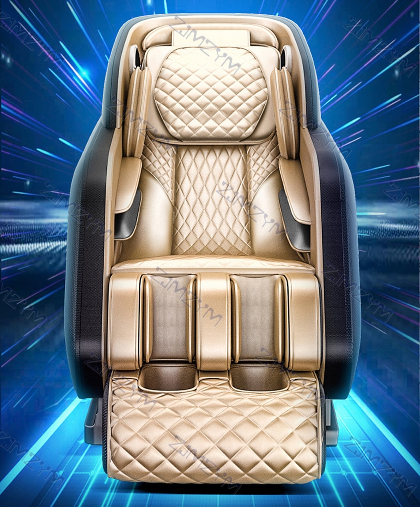Новое электрическое массажное кресло для всего тела 4D