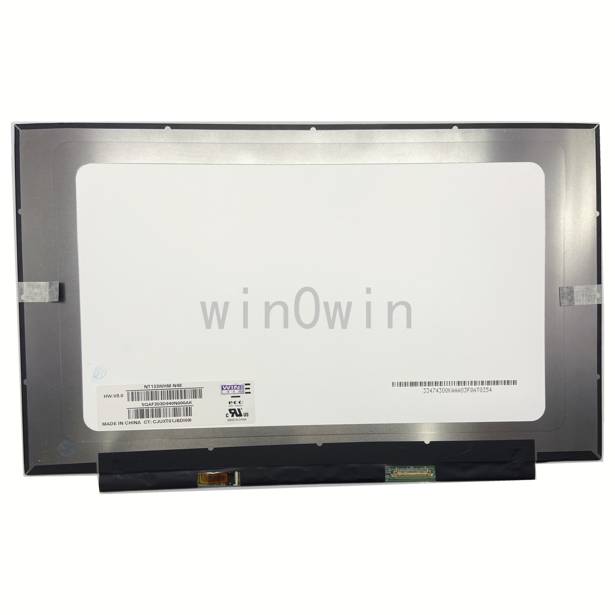 NT133WHM-N48 صالح NT133WHM-N47 B133XTN03.2 B133XTN03.3 M133NWR9 R1 N133BGA-EA2