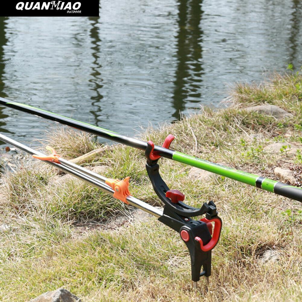 Outdoor Fishing Stand Holder Universal Fishing Pole 360 Degree Adjustable Foldable Bracket Sea Lake Fish Rod Fix Pole Rack Stand enlarge