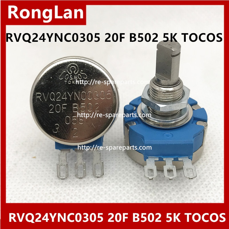 [BELLA]RVQ24YNC0305 20F B502 5K مقياس الجهد TOCOS-3 قطعة