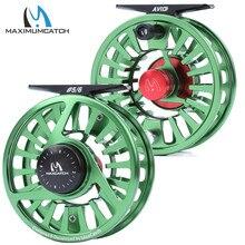 Bobine et bobine de pêche à la mouche en Aluminium usiné Maximumcatch AVID 1-9WT