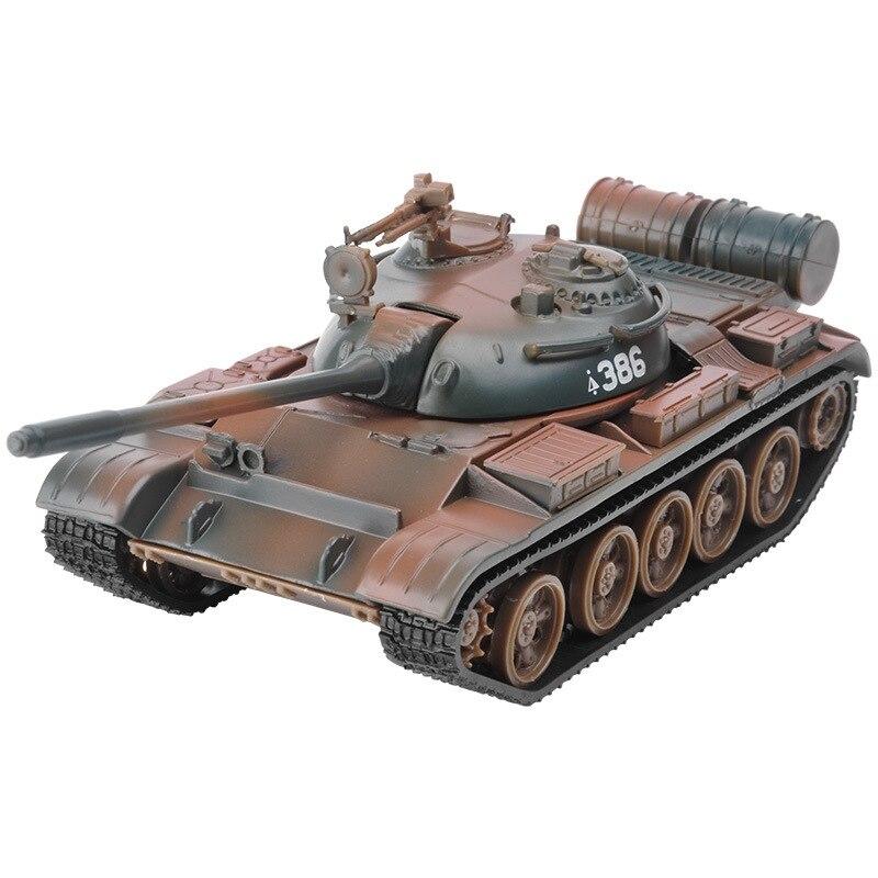 Modelo, aleación 132 modelo T55 MBT tanque, tanques de Metal, coches de fundición, buen regalo