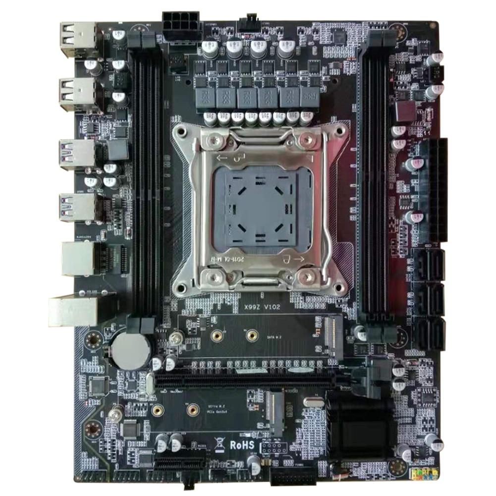 X99Z модуль V102 -2011-3 Pin прочная стабильная материнская плата для ноутбука ремонт компьютера Pcb Cpu DDR4 память легко установить офис