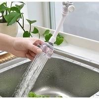 Barboteur rotatif economiseur deau  2 modes 360  accessoires de cuisine et salle de bains avec buse a haute pression  filtre et adaptateur de robinet  prolongateur