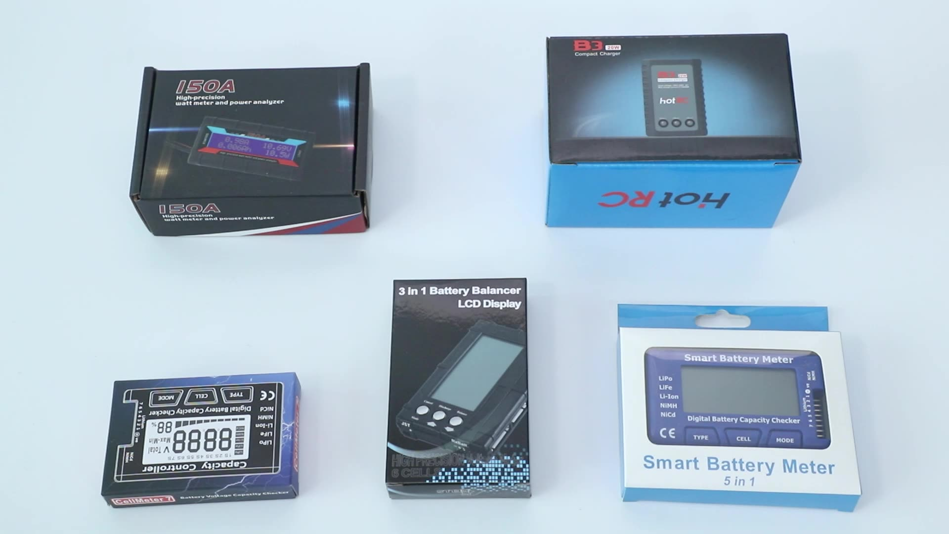 ISDT D2 200W 24A AC Dual Channel Output Smart Battery Balance Charger Built-in power adapter enlarge