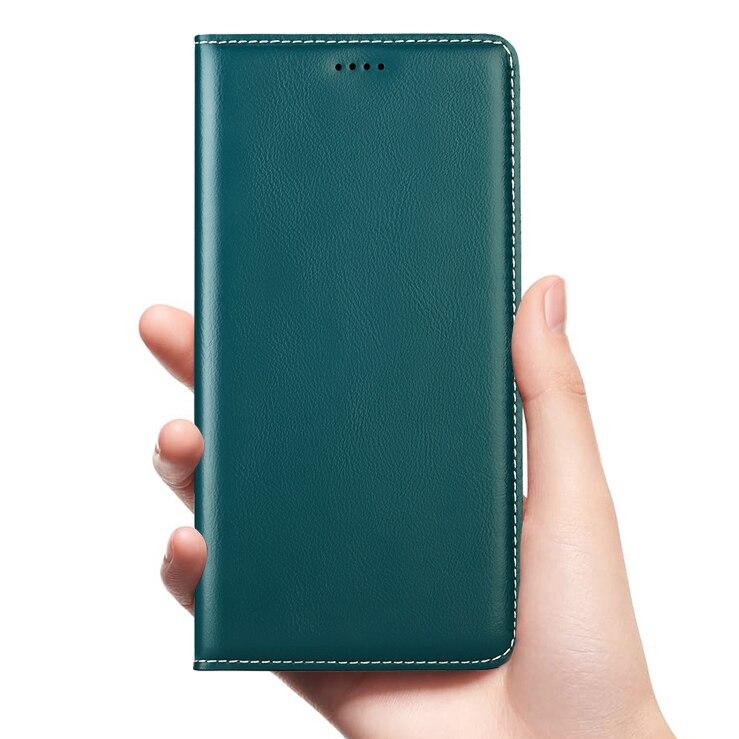 Babylon Funda de cuero genuino para Doogee X3 X5 X6 X7 X9 X10 X20 X20L X30 X50 X53 X55 X60L X70 MAX Pro Mini Flip cubierta del teléfono celular
