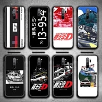 japan classic comic initial d jdm ae86 phone case for redmi 9a 9 8a 7 6 6a note 9 8 8t pro max k20 k30 pro