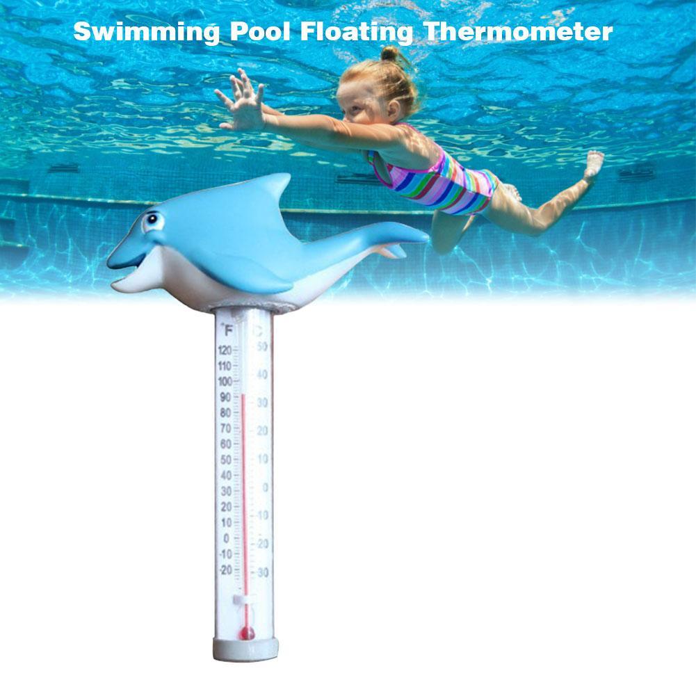 Мультяшный плавающий термометр с милой рыбкой для детей, Детский термометр для бассейна, ванны, спа для воды, аквариумные ванны