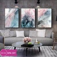 Toile de decoration de noel  affiches de peinture  couleur  encre  mur dart  pour salon  decoration de maison