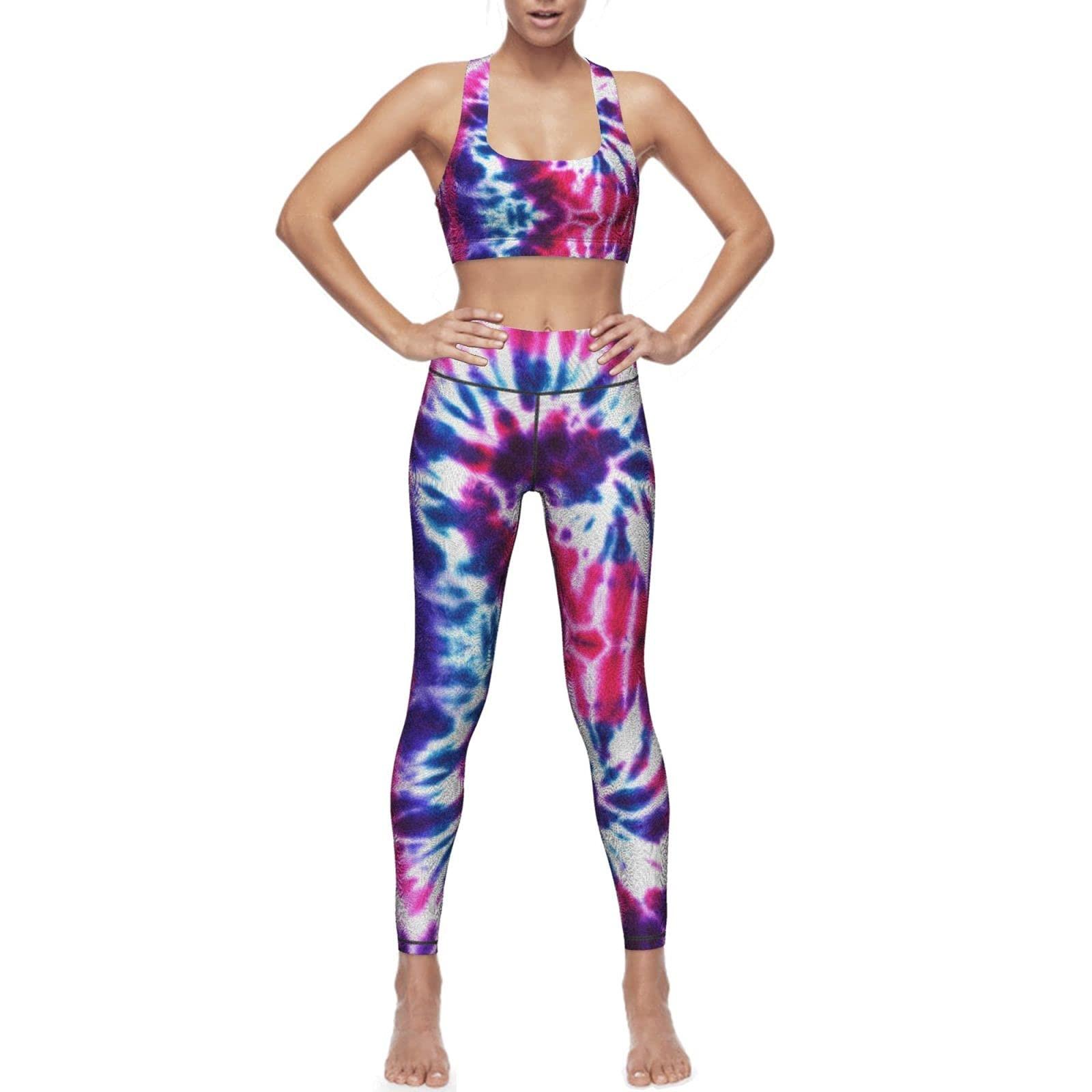 2021 цветная Женская одежда для йоги с леопардовым принтом, бесшовный спортивный бюстгальтер и колготки с подкладкой для груди