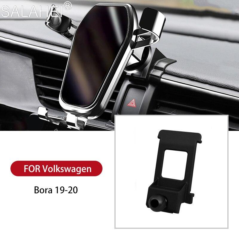 Автомобильный держатель для телефона Volkswagen Bora 2019 2020 GPS, поворот на 360 градусов, навигация, аксессуары для интерьера, Автомобильный кронштейн ...