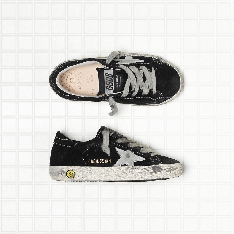 Spring New Parent-Child  Products Black Ox Velvet Children Retro Old Small Dirty Shoes Boys/ Girls Casual Kids Board Shoes QZ11 enlarge