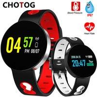 Smart Wristband Blood Pressure Heart Rate Monitor Fitness Tracker Ip67 Waterproof Pedometer Bracelet Sport Smart Band Women Man