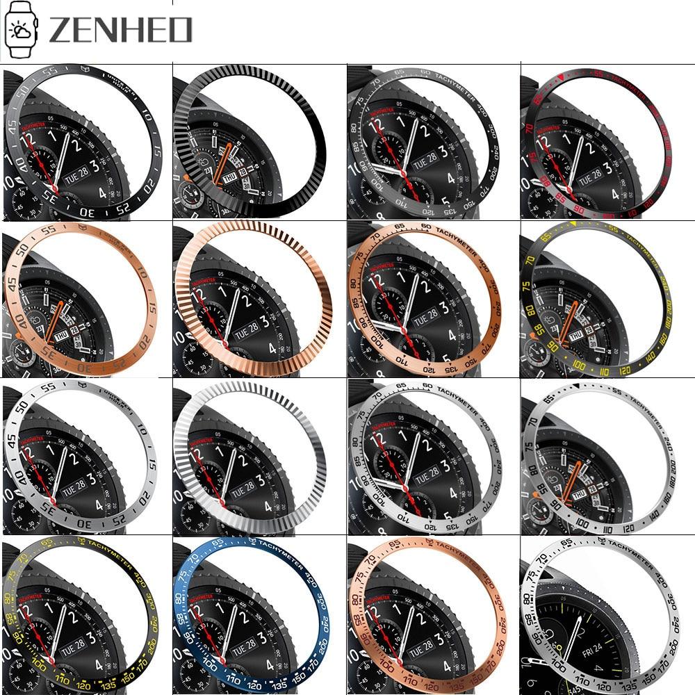 Funda de anillo de bisel de Metal para Samsung Galaxy Watch, 46mm/42mm,...