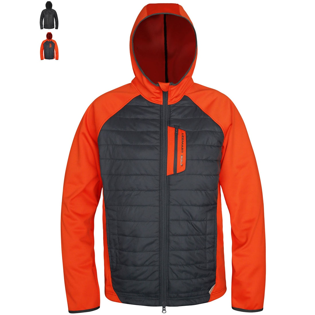 Men Thin Warm Cotton Jacket Lesmart 3M Thinsulate Thermal Insulation Material Hooded Youth Fashion Male Popular Coats Winter