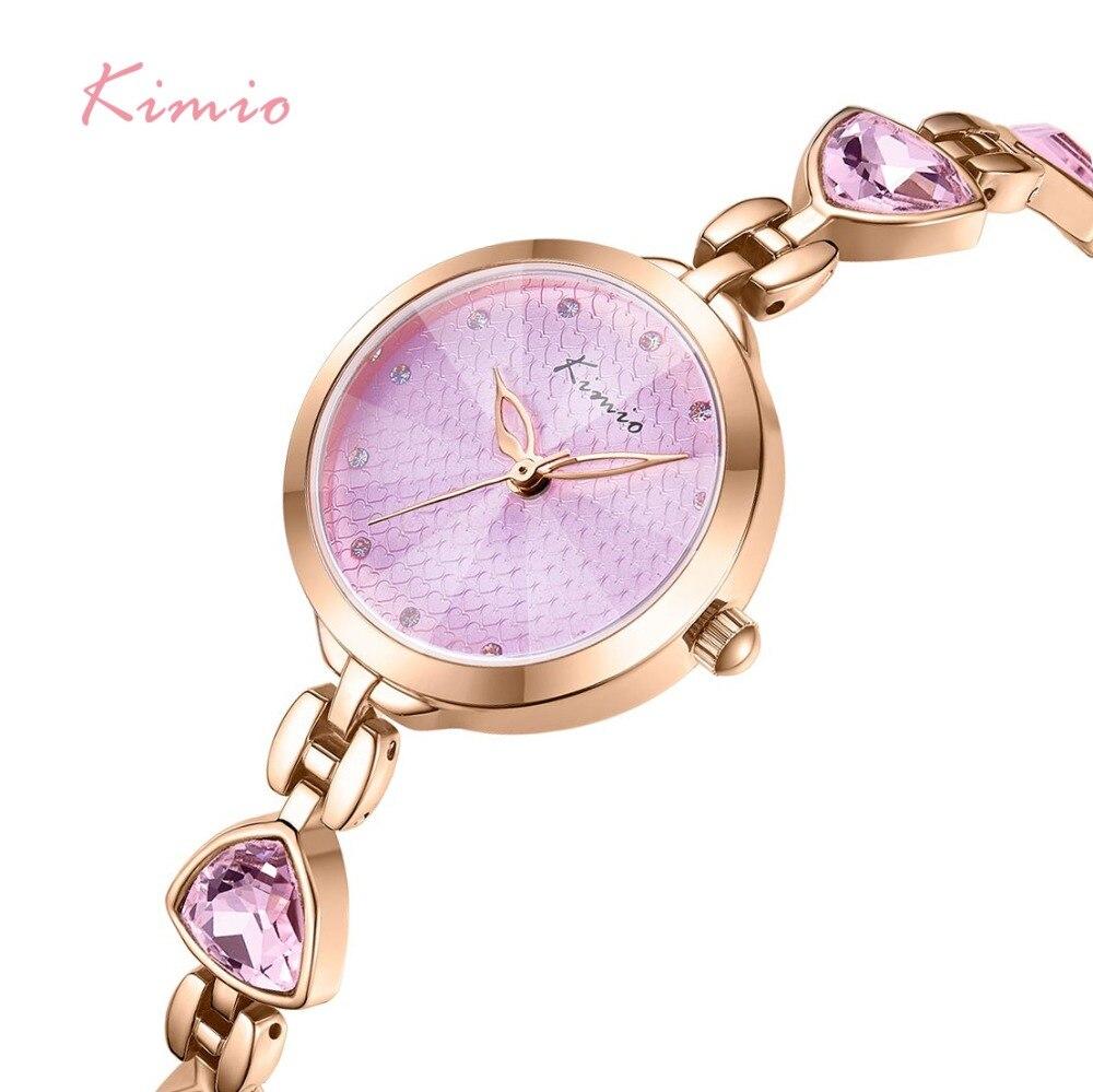 NO.2Brand relojes de pulsera para mujer reloj de cuarzo de cristal de lujo para mujer vestido de gemas irregulares reloj de pulsera resistente al agua reloj femenino