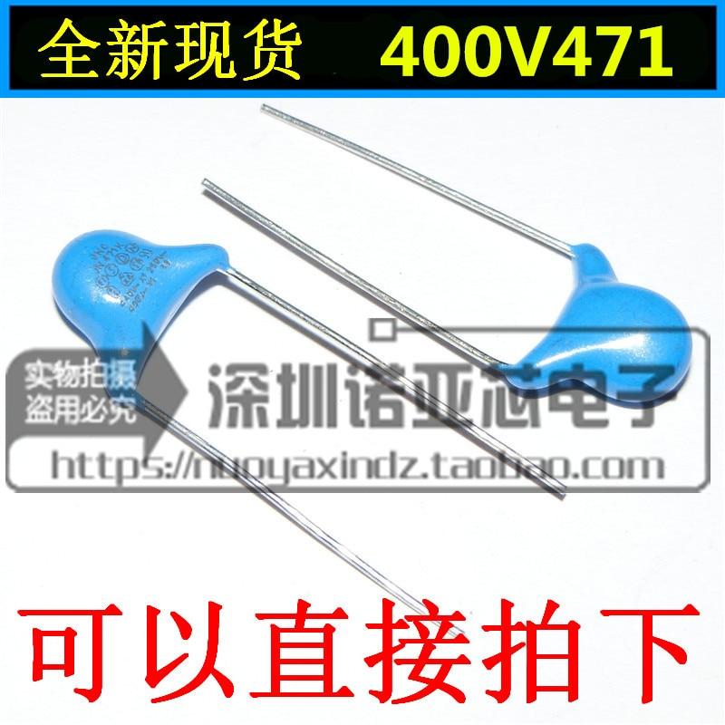 100pcs/lot High-voltage ceramics Safety Y capacitor 400V 471M 470pF X1 Y1