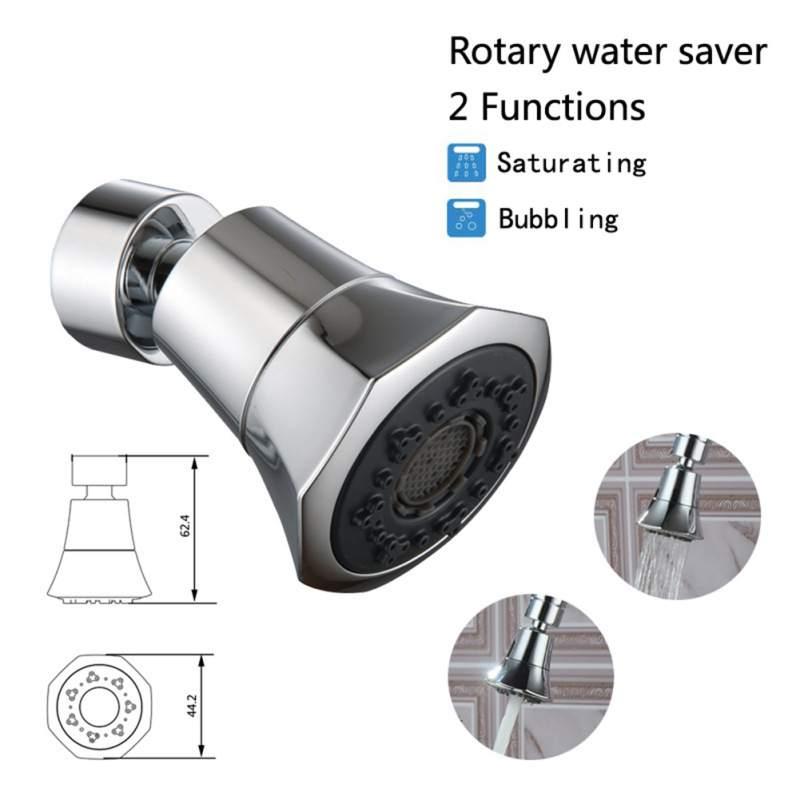 Cocina Anti-splash grifo la cabeza 360 grados de rotación grifos de boquilla del rociador grifo ducha de agua Dispositivo de ahorro