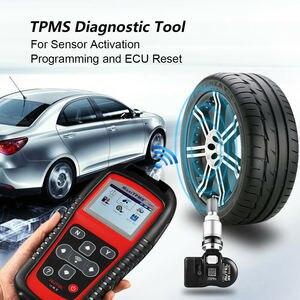 Image 3 - Датчик Autel TPMS MX Sensor 2в1 Инструменты для ремонта шин TPMS сенсор Поддержка программирования с TS501 TS508 равный 433 МГц + 315 МГц