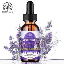 HFU Natural Lavender Extract Drops Facial Care Improve Insomnia Relief Pain Antibacterial Health Car