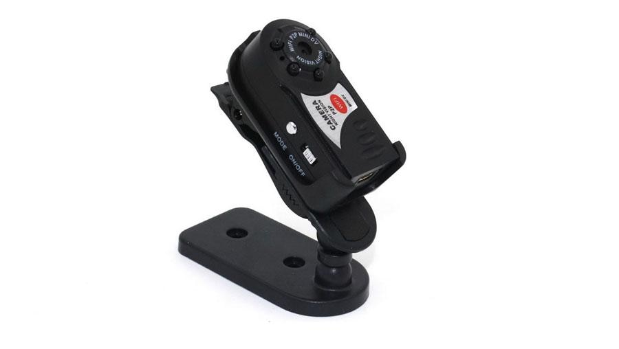 20 pces q7 wifi ip mini câmera ir visão noturna p2p sem fio micro cam controle remoto vídeo espia candid para iphone android