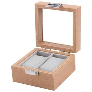 2 Grid Men's and Women's Watch Box Storage Box for Watch Display Cabinet Stand Storage Jewelry Box Gift Box