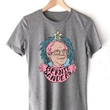 بيرني ساندرز للرئيس 2020 قميص مضحك هدية قميص الرجال والنساء تي شيرت تي شيرت S 2XL KR156