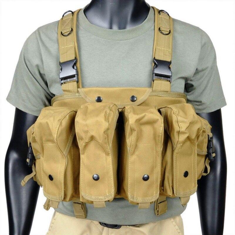 Homens colete tático caça tiro colete camo proteção modular segurança combate colete treinamento militar cs equipamentos de campo