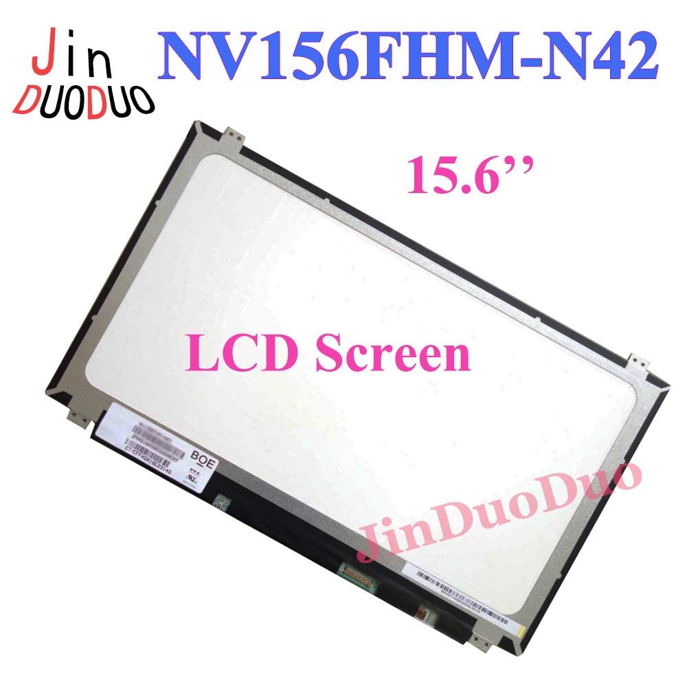 15.6'' New Laptop LCD Display Screen NV156FHM N42 LCD Screen Panel 1920X1080 Replacement For NV156FHM-N42 LCD Display