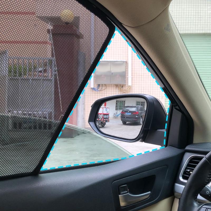 المغناطيسي سيارة الشمس الظل 4 قطعة الجبهة الخلفية الجانب نافذة الشمسيات لتويوتا كامري 2018 ستارة النافذة قناع ل كامري 2018 2019